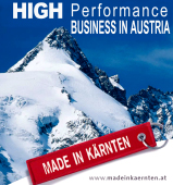 """Made in Karnten"" Carincia - Austria significa alta tecnologia y calidad industrial asegurada... Carincia llamada ""La Silicon Alpes"" ofrece fabricantes y productores Europeos calificados de electronica, ingenieria, tecnologia industrial para desarrollar software, information technology IT para aplicaciones industriales, repuestos electronicos, sistemas micro-electronicos, y mucho mas.... Components Industriales para la industria global y el mercado de la distribucion... Made in Carinthia (Karnten)..."